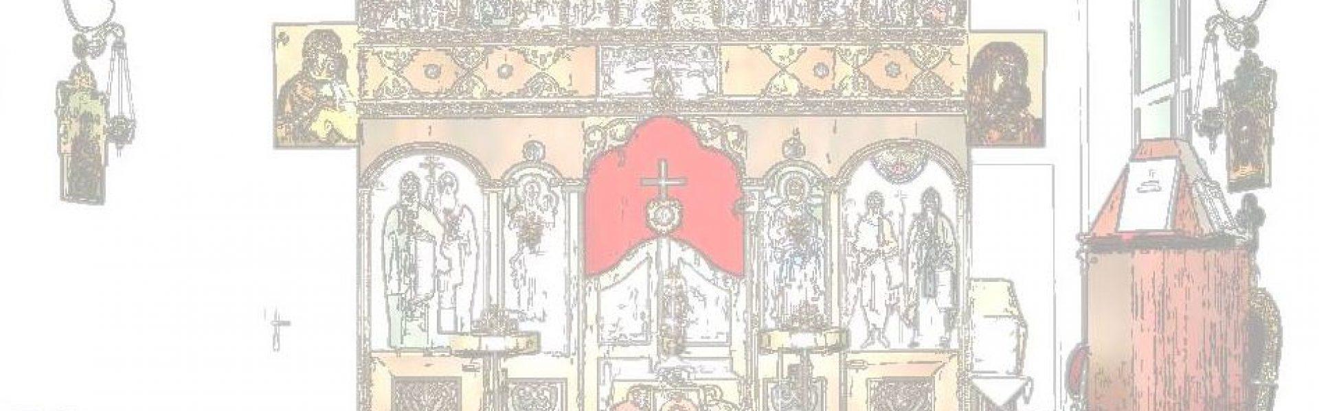 """Kirche zu den """"Heiligen Kyrill und Method"""" 1040 WIEN, KLAGBAUMGASSE 4"""